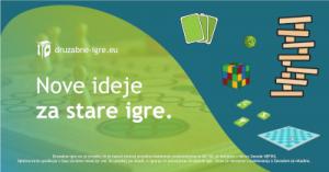 Družabne igre – Nove ideje za stare igre